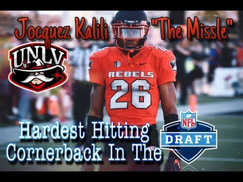 check out 8e4a7 ffb0f Hardest Hitting Corner In College Football | Jocquez Kalili