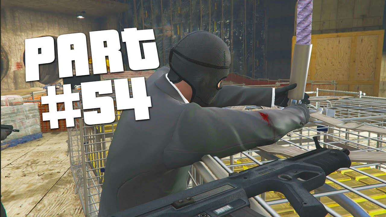 GTA 5 - First Person Walkthrough Part 54