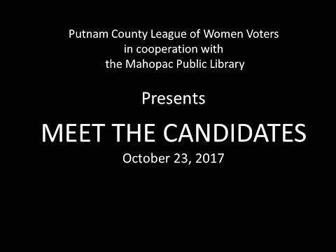 Meet the Putnam County Candidates 10/23/17