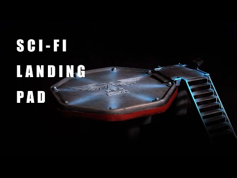 Building a Sci-fi Landing Pad | Terrain | Scenery
