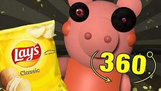 ROBLOX PIGGY LOVES CHIPS JUMPSCARE 360