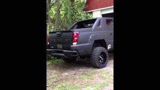 2003 Chevy Avalanche PlastiDipped