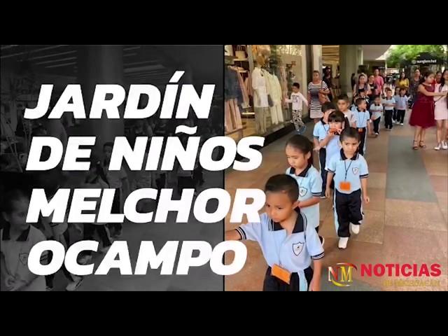 Alumnos del jardín de niños Melchor Ocampo disfrutan del cine por invitación de Paco Cedillo