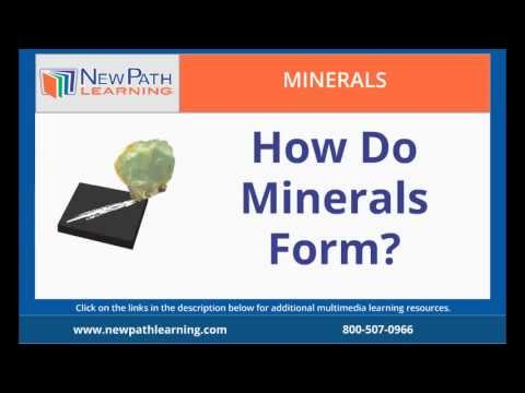 Minerals - How Do Minerals Form? - YouTube