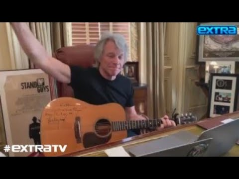 Jon Bon Jovi Says Teen Son Had COVID-19 Symptoms, Plus: How the Rocker Is Helping