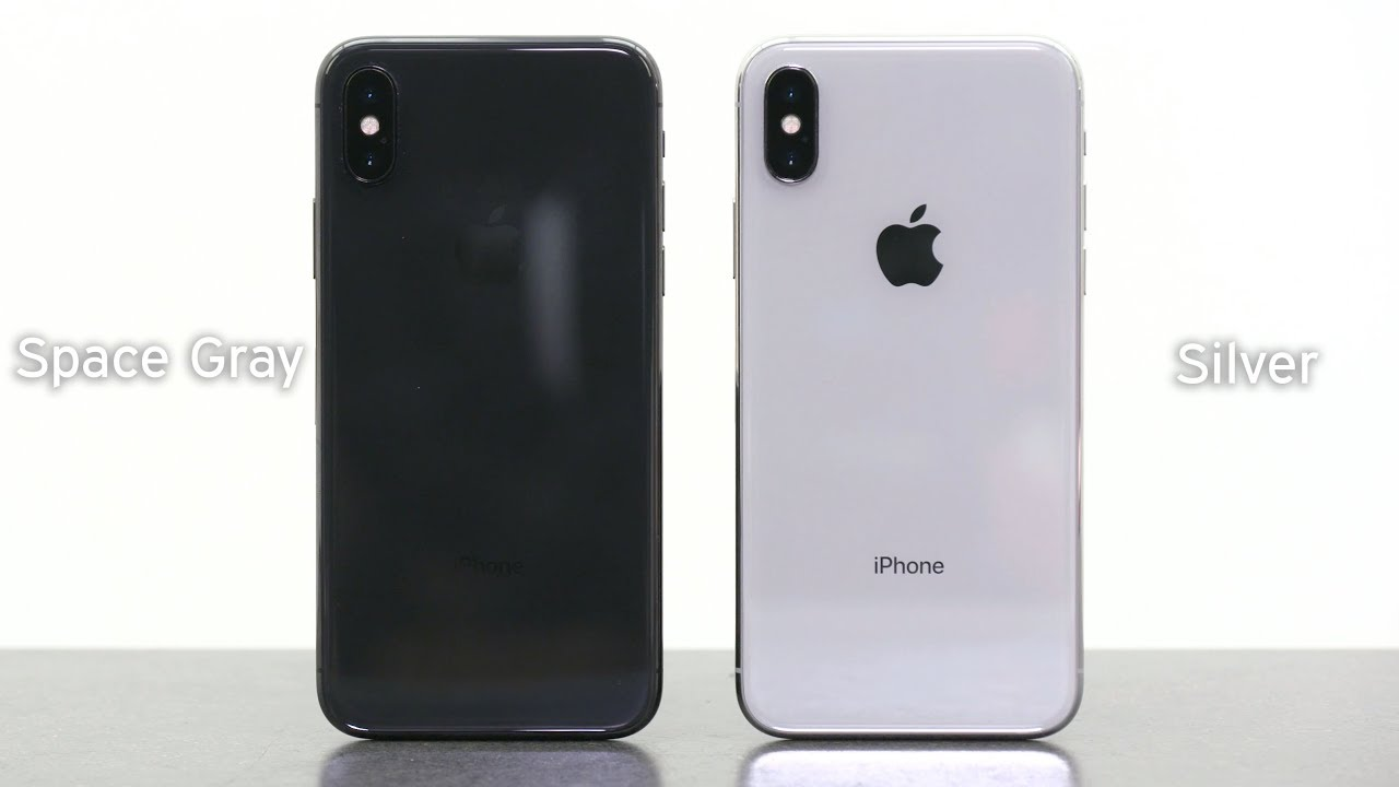 IPHONE SPACE GRAY VS SILVER