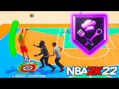 NBA 2K22 CHEF BADGE HOF MIGHT GET ME BANNED ITS TOO OVERPOWERED !!!
