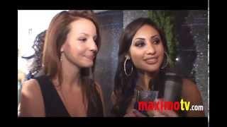 Francia Raisa & Samantha Droke Candid Interview and Fashion Spin!