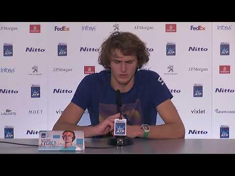 Alexander Zverev  ATP Finals - Press Conference