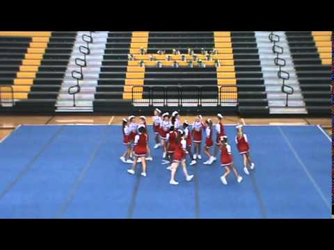 2014 Pulaski County Middle School Cheerleading