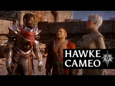 Dragon Age: Inquisition - Hawke Cameo (Merrill romance, aggressive, male)