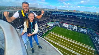 This has to be our most epic video date!! 😱 thank you so much spurs for inviting us climb their stadium, we will never forget experience 💙 we...