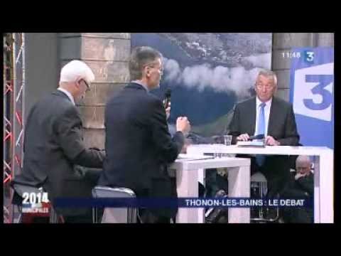 Municipales à Thonon : le débat de France 3 Alpes