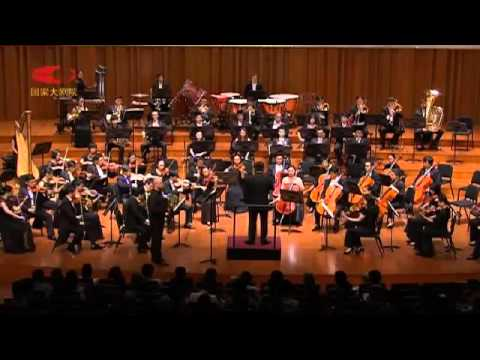 Peter Seabourne Double Concerto for horn and Orchestra (Ondřej Vrabec, Lü Jia, NCPA Orchestra)