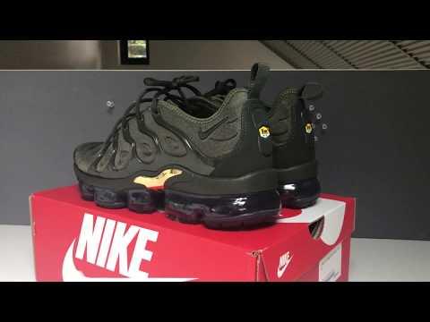 Nike Vapormax Plus Cargo Khaki On feet