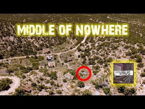 HE WAS WATCHING US!! Exploring Ghost Towns In Nevada