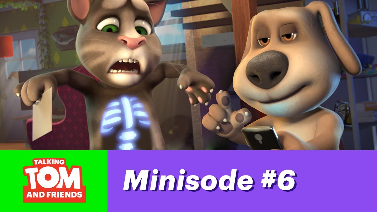Download Talking Tom & Friends Minisode 6 - There's an App for That