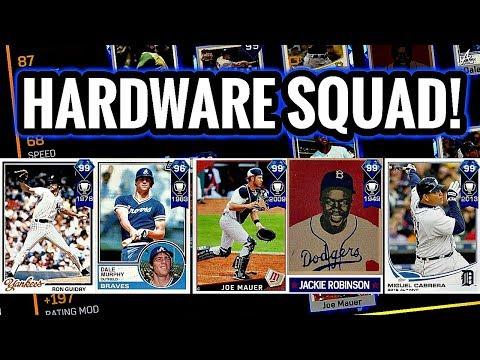 DIAMOND HARDWARE SQUAD!! STACKED TEAM! MLB The Show 17 Diamond Dynasty