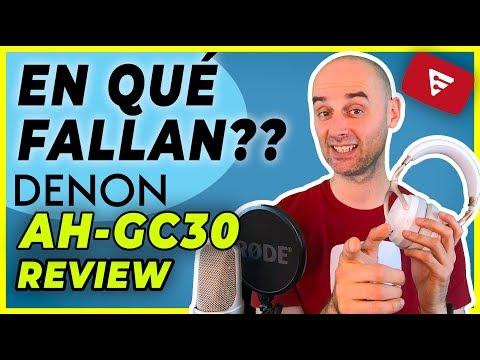Auriculares DENON AH-GC30 Review español - En qué fallan?