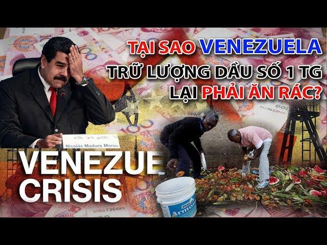 Vì sao Venezuela quốc gia nhiều dầu mỏ nhất thế giới lại không sung sướng như các quốc gia Ả rập