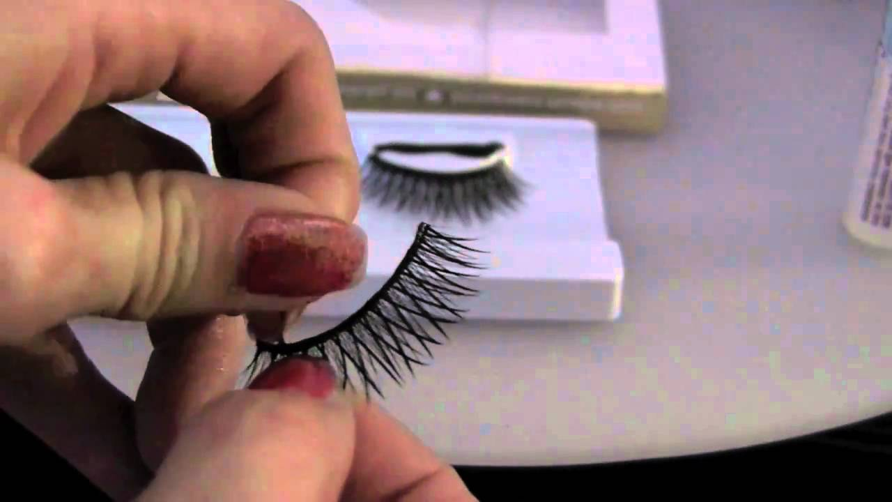 How to Quickly ReUse (clean) Your False Lashes Tip Thursday - YouTube