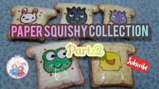 Koleksi squishy kertas Part 2 handmade by Pridna and Mama