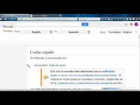 Google Translate   Full web page