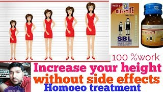 How To Increase Height With Homeopathic Medicines
