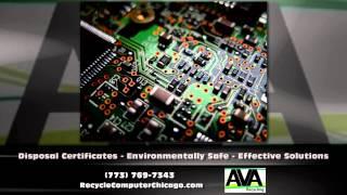 Chicago IL Electronics Recycling - AVA Electronics Recycling