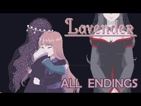Lavender- RPG Maker Horror (All Endings) ᴴᴰ