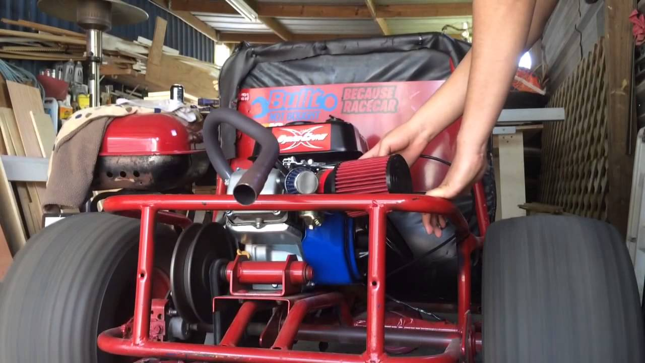 212cc predator go kart 15HP - YouTube