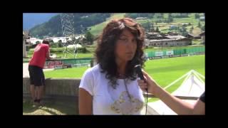 """Intervista alla giornalista mediaset presente a bormio: """"immobile giusto per il toro: vedo una squadra coesa"""""""