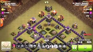 WTF-- Clash of Clans - INSANE CLAN WAR GLITCH! Clan Wars Glitch