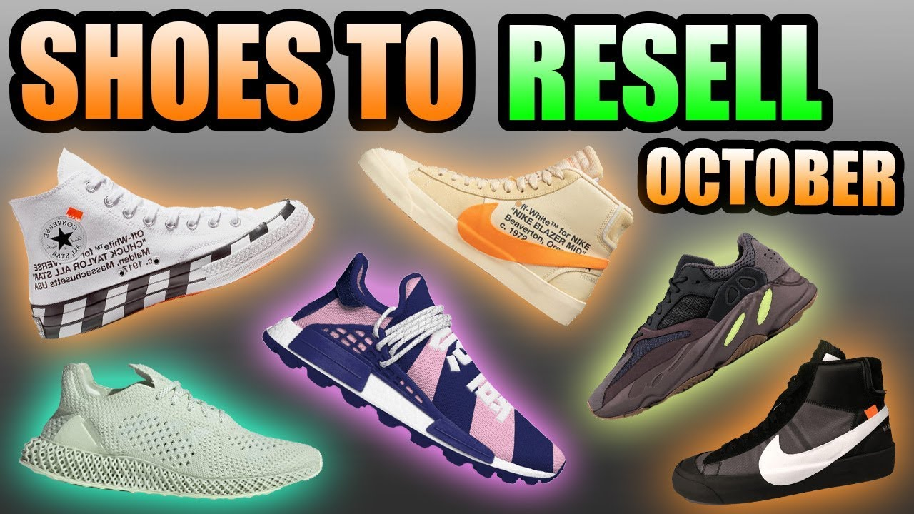 d3207c135 Most HYPED Sneaker Releases OCTOBER 2018 !