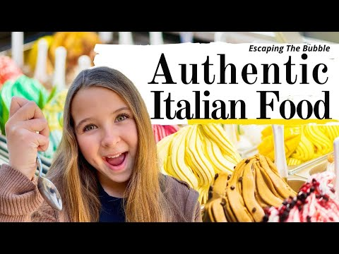 AUTHENTIC ITALIAN FOOD - Travel Family Vlog