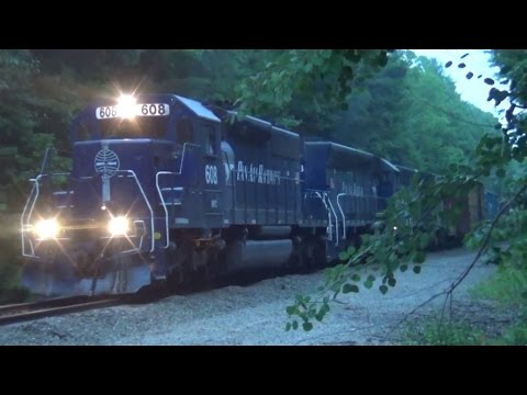 HD Busy Evening On Pan Am's D2: CPF 209 To Saco (ME) - 7/14/2015