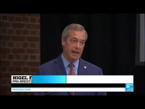 Brexit aftermath: Nigel Farage quits