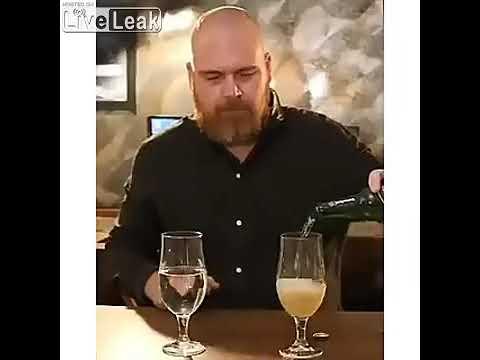 Какая разница между водой и пивом?