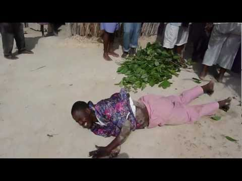 Voodoo Priest Turns into Snake in Haiti