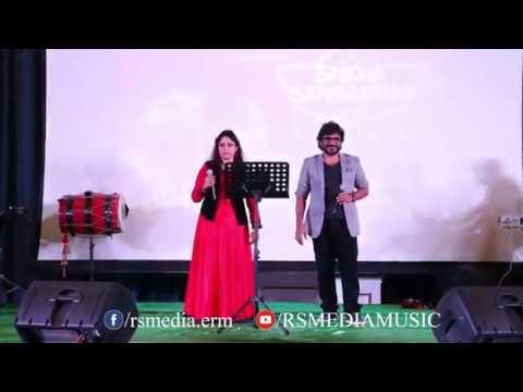 Tharapadham Chedoharam Live    താരാപഥം ചേതോഹരം   Singers : Afsal & Lekha Ajay   RS Media