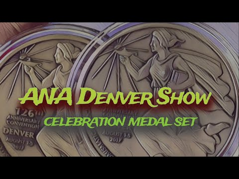 ANA American Numismatic Association Denver Show Medal Issues