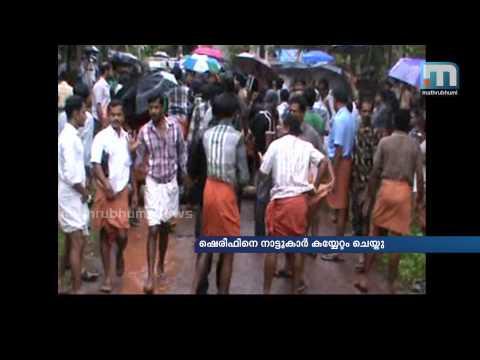 Murder Case Suspect Attacked at kannur