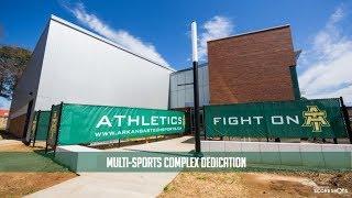 Arkansas Tech University Multi-Sports Complex Dedication (04/14/18)