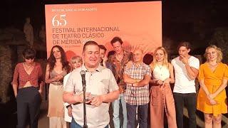 """Secun de la Rosa valora el """"lujo"""" de compartir escenario con Concha Velasco"""