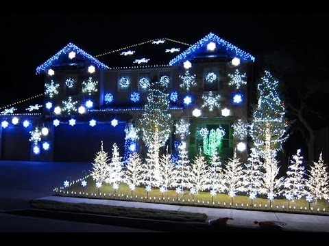 Dubstep Christmas Lights to Music - Dubstep Christmas Lights To Music - YouTube