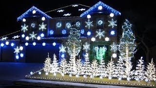 Dubstep Christmas Lights to Music