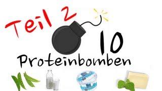 Proteinbomben (2.Teil) - 10 Lebensmittel mit viel Eiweiß ohne Fleisch