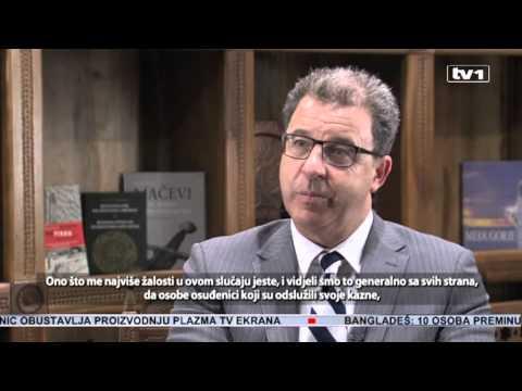 Ekskluzivno - Serge Brammertz za TV1