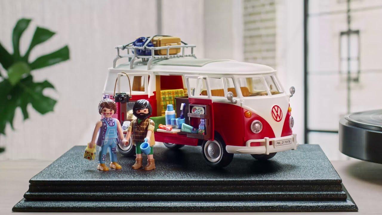 Volkswagen T1 Camping Bus | Anuncio | PLAYMOBIL en Español