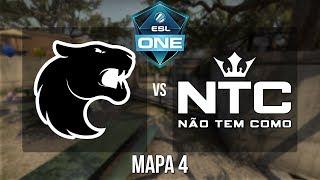 ESL One Belo Horizonte 2018 SA Closed Qualifier - Furia vs. NTC (Mapa 4 - Overpass) - Narração PT-BR